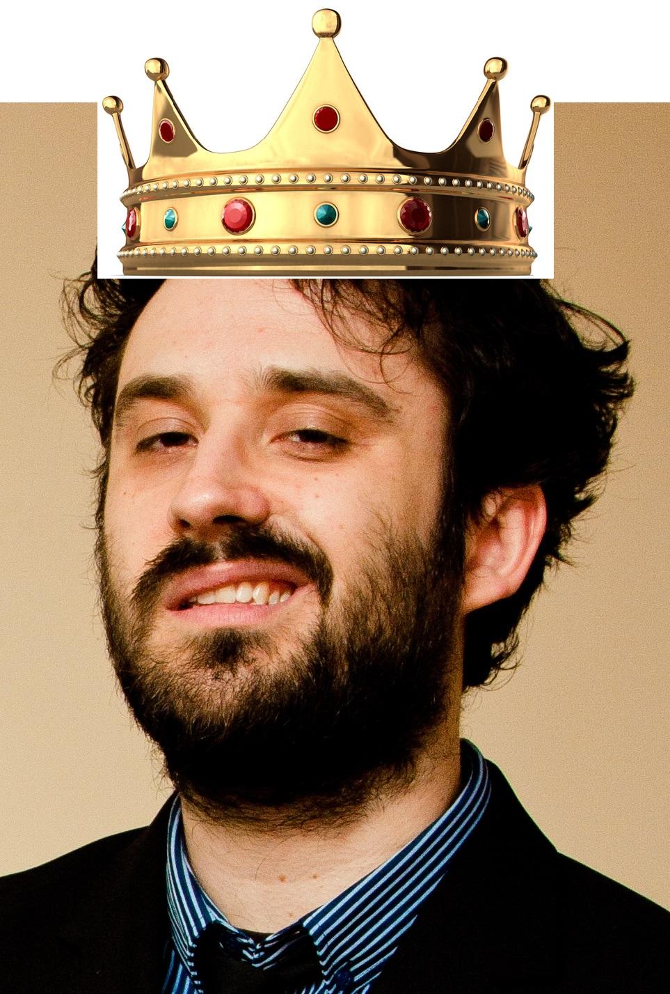 Tim Clare Headshot Crown